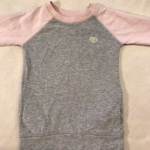 Carter's |  Kids grey and pink sweater 4t